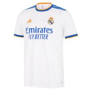 Real Madrid 2021-2022 Home Shirt (Kids)