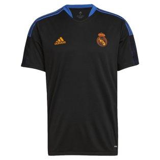 Real Madrid 2021-2022 Training Shirt (Black)