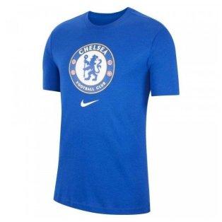 2021-2022 Chelsea Evergreen Crest Tee (Royal Blue)