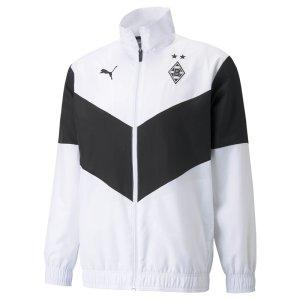 2021-2022 Borussia MGB Pre-Match Jacket (White)