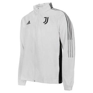 2021-2022 Juventus Allweather Jacket (White)