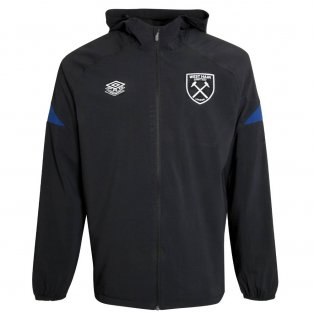 2021-2022 West Ham Shower Jacket (Black)