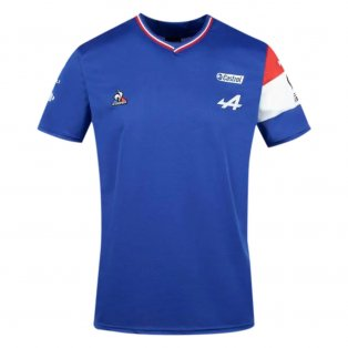 2021 Alpine Team Tee (Blue)