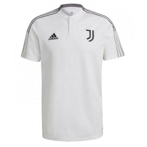 2021-2022 Juventus Polo Shirt (White)