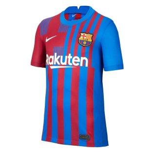 2021-2022 Barcelona Home Shirt (Kids)