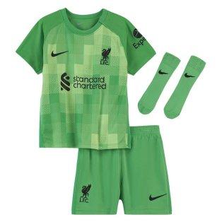 2021-2022 Liverpool Goalkeeper Baby Kit (Green)