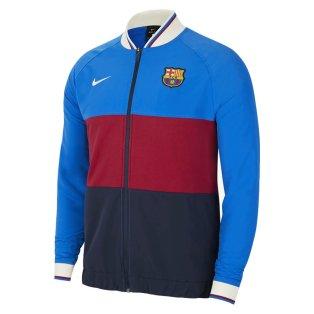 2021-2022 Barcelona Elite I96 Anthem Jacket (Blue-Red)