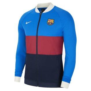 2021-2022 Barcelona I96 Jacket (Blue-Red) - Kids