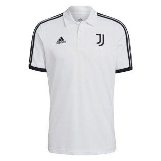 2021-2022 Juventus 3S Polo Shirt (White)