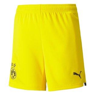 2021-2022 Borussia Dortmund Away Shorts (Yellow)