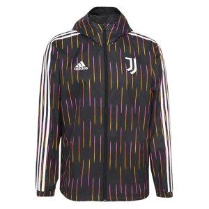 2021-2022 Juventus Windbreaker (Black)