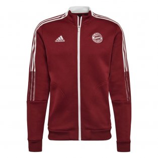 2021-2022 Bayern Munich Anthem Jacket (Red)