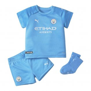 2021-2022 Man City Home Baby Kit