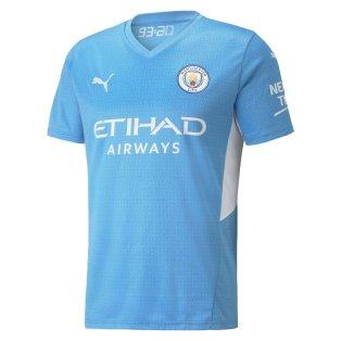 2021-2022 Man City Home Shirt