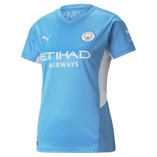 2021-2022 Man City Womens Home Shirt