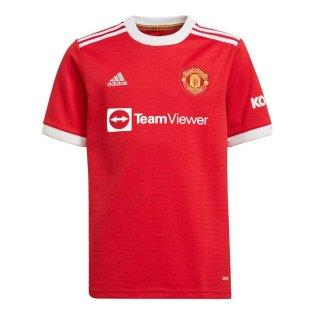 Man Utd 2021-2022 Home Shirt (Kids)