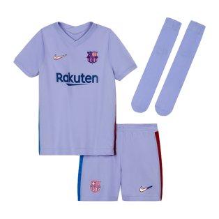 2021-2022 Barcelona Infants Away Kit