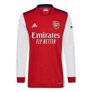 Arsenal 2021-2022 Long Sleeve Home Shirt