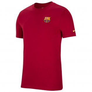 2021-2022 Barcelona Travel Tee (Noble Red)
