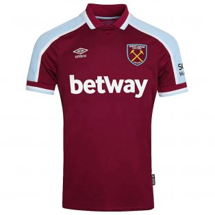 2021-2022 West Ham Home Shirt