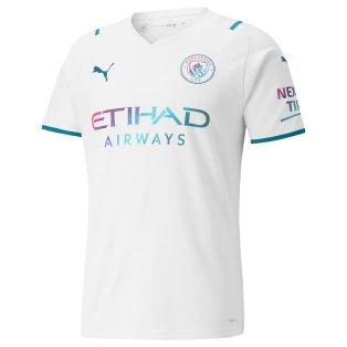 2021-2022 Man City Away Shirt