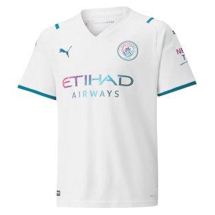2021-2022 Man City Away Shirt (Kids)