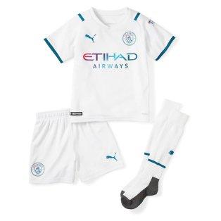 2021-2022 Man City Away Mini Kit