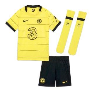 2021-2022 Chelsea Little Boys Away Mini Kit