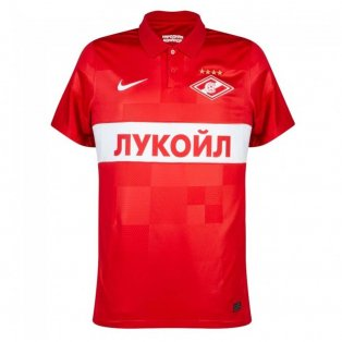 2021-2022 Spartak Moscow Home Shirt (Red)