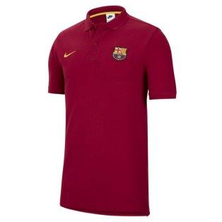 2021-2022 Barcelona Core Polo Shirt (Noble Red)