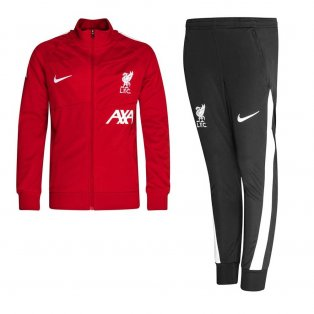 Liverpool 2021-2022 Academy Tracksuit (Red) - Kids