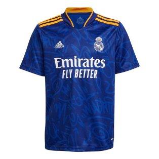 Real Madrid 2021-2022 Away Shirt (Kids)
