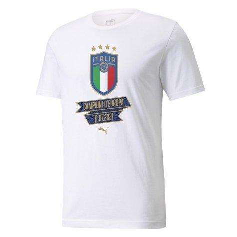 2021 Italy Euros Winners Tee (White)