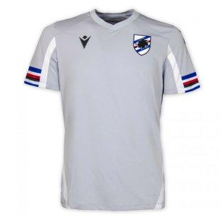 2021-2022 Sampdoria Pre-Match Shirt (Grey)