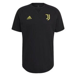 2021-2022 Juventus Travel Tee (Black)
