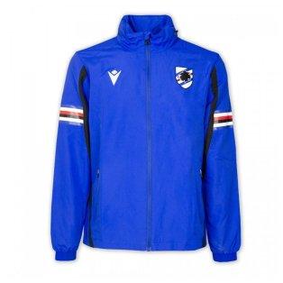 2021-2022 Sampdoria Shower Jacket (Blue)