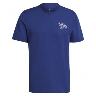 Real Madrid 2021-2022 STR Graphic Tee (Blue)