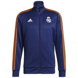 Real Madrid 2021-2022 3S Track Top (Blue)