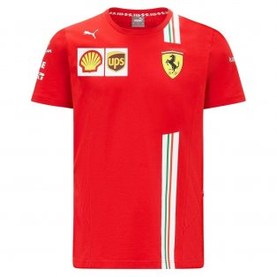 2021 Ferrari Carlos Sainz Tee (Red)