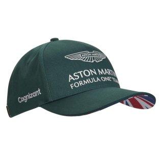 2021 Aston Martin F1 Official Team Cap - (Green)