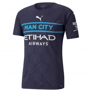 2021-2022 Man City Authentic Third Shirt