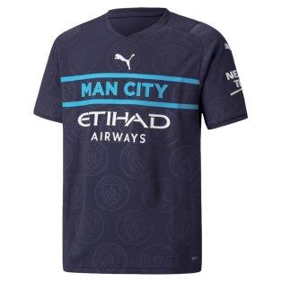 2021-2022 Man City 3rd Shirt (Kids)