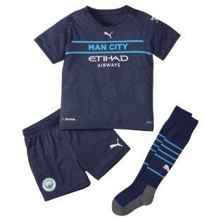 2021-2022 Man City 3rd Mini Kit