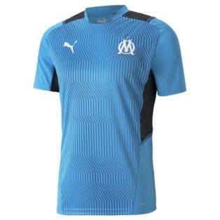 2021-2022 Marseille Training Shirt (Blue)