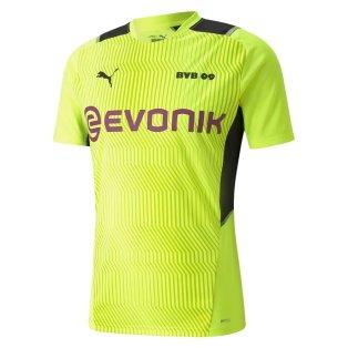 2021-2022 Borussia Dortmund Training Jersey (Yellow)