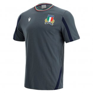 2021-2022 Italy Rugby Player Cotton Poly T-Shirt