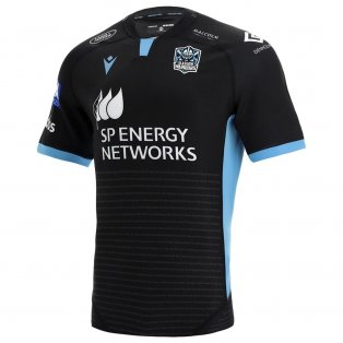 2021-2022 Glasgow Warriors Home Poly Rugby Shirt