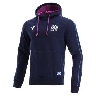 2021-2022 Scotland Heavy Cotton Hoody (Navy)