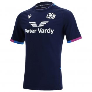 2021-2022 Scotland Home Pro Body Fit Rugby Shirt