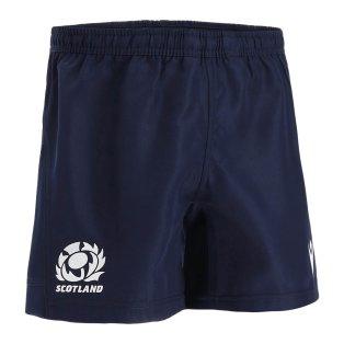 2021-2022 Scotland Rugby Training Shorts (Navy)